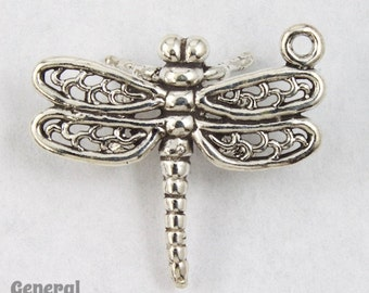 22mm Sterling Silver Dragonfly Charm  #BSD049