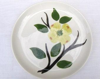 Dixie Dogwood Joni China Fruit / Dessert / Sauce Bowl & Bread Plate Vintage Set - #