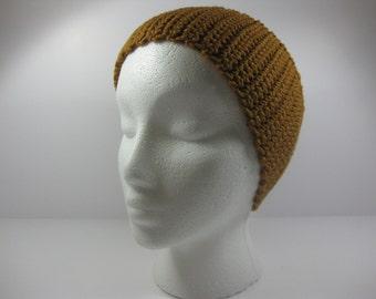Nutmeg Crochet Cotton Ear Warmer One Size Fits Most