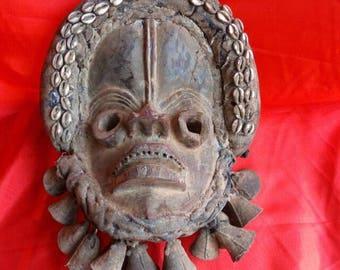 Dan Ceremonial Mask African Tribal art Liberia