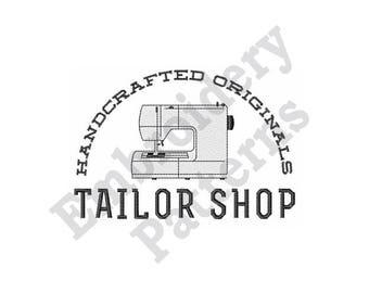 Tailor Shop - Machine Embroidery Design