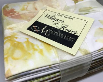 Maywood Studios Whisper Roses 19 pc Fat Quarter Bundle