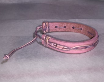Womens Mens Braided Italy Leather ethnic tribal adjustable leather bracelets Handmade