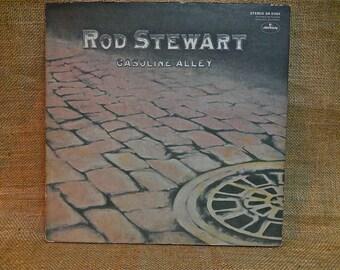 Rod Stewart - Gasoline Alley - 1971 Vintage Gatefold Vinyl Record Album...
