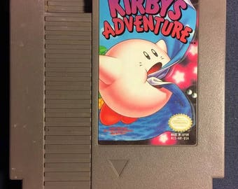 Kirby's Adventure Nintendo NES Game NA Version Cartridge Only From 1993