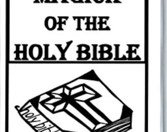 WHITE MAGICK OF the holy bible book