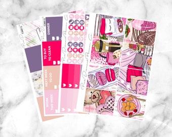 Love Nest // Mini Weekly Planner Kit (100+ Planner Stickers)