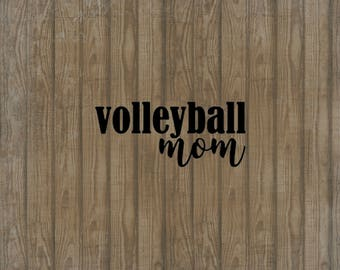 Volleyball Mom Decal, Car Decal, Window Decal, Volleyball Mom Sticker, Volleyball Sticker, Volleyball Car Decal, Volleyball Mom Car Decal