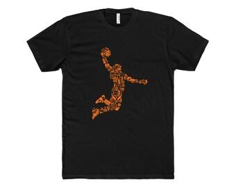 Basketball Cotton Crew Tee