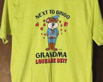 Vintage New, Grandma Loves Me Best, Medium, T-Shirt