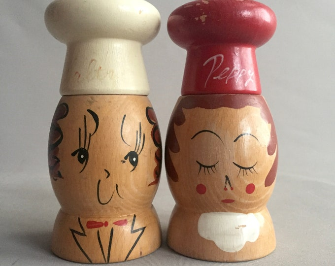 Salty and peppy salt and pepper set
