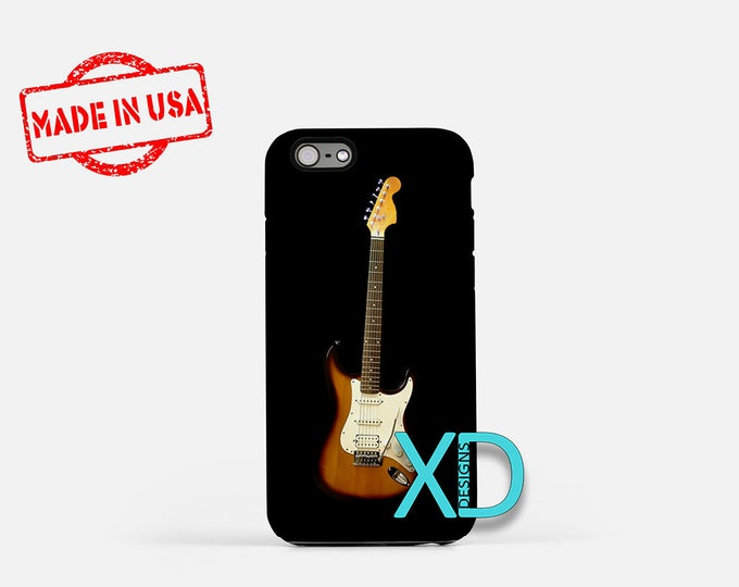 Guitar iPhone Case, Music iPhone Case, Guitar iPhone 8 Case, iPhone 6s Case, iPhone 7 Case, Phone Case, iPhone X Case, SE Case Protective