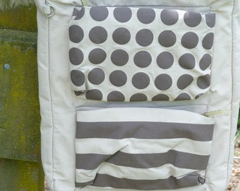 Spotty shoulder bag a comfortable and practical bag with eye popping punch.