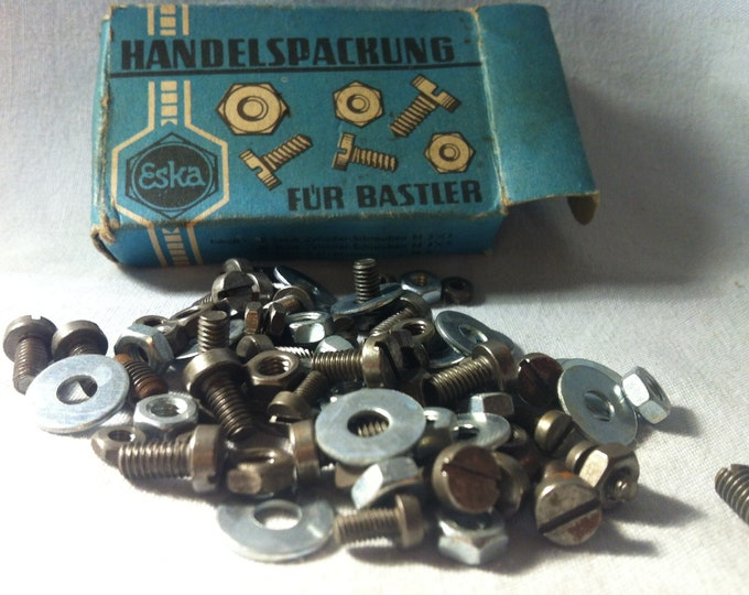 Vintage Screws/Nuts Accessories Eska Restoration needs