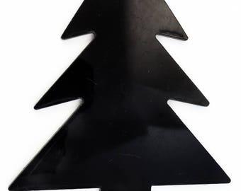 105mm Black Christmas Tree Blank #UP369