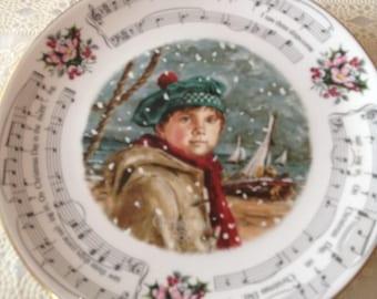 Royal Doulton Vintage Christmas Carols 1986 - I Saw Three Ships