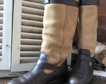HUMAN NATURE Vintage boots, waterproof, outdoor, size 39, made in Holland