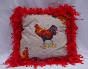 Red Rooster cushion