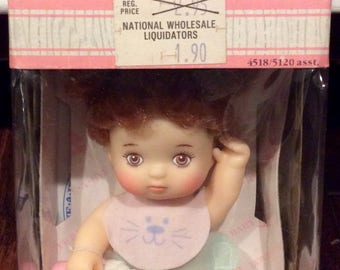 1987 Love-A-Bye Baby NIB by Hasbro, Vintage Love A Bye Baby Dolls, Retro Hasbro Dolls, 1980s Dolls, Collectible Dolls, Small Doll Babies