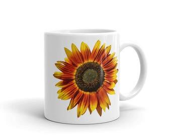 Bright Cheery Sunflower Mug Multiple Sizes Available