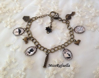 Mary Poppins cameo Bracelet.