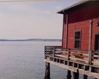 5 x 7 matted photo, Coupeville, Whidbey Island, Washington,  Pacific Northwest