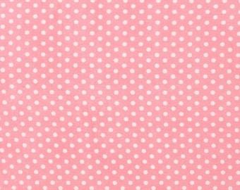Spot On Pink Mini Dots From Robert Kaufman