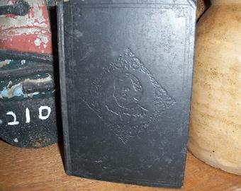 Antique Book Hardcover The Country Parson The Sceaux Ball Honore de Balzac Novel Library Bookshelf