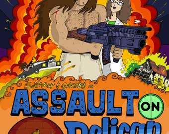 "Issue 3: ""Assault on Pelican Grove"""