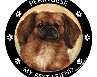Pekingese My Best Friend Dog Magnet