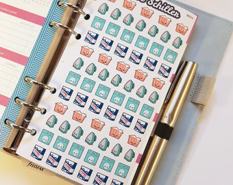 80014 laundry labels for Filofaxing & scrapbooking, kawaii, Planner, stationary, cute
