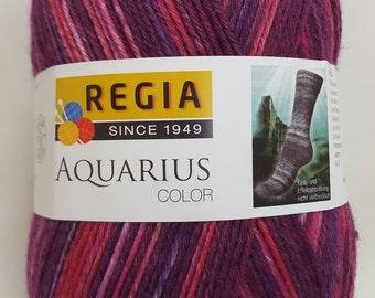 Regia, Aquarius, 150g, 04911, BURGUNDER, sock yarn, 6-ply