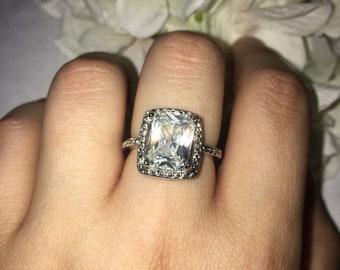 18k gold filled ring sz 8