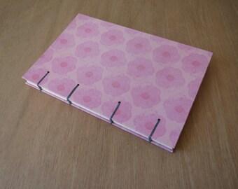 Bullet Journal | Dot Grid Journal | Dot Grid Notebook | BuJo | Pink Journal | Hardcover Journal | Floral Journal