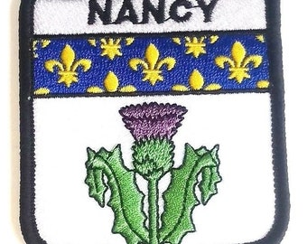 Nancy Embroidered Patch