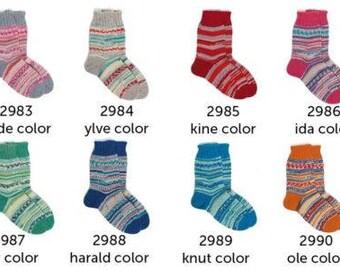 Regia Arne Carlos Pairfect  Sock Yarn Kid's NEW full set all 8 colors, 75% wool 25 nylon *60* grams superwash fingering HERE NOW
