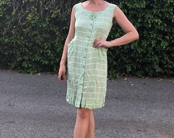 Mint Green 50's Housedress