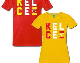 KC Chiefs Travis Kelce Fan T Shirt