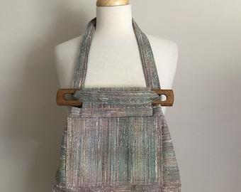 70s Upholstery Fabric Boho Bag