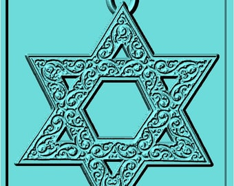 Star of David - Ornate