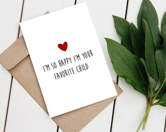 Mother Day Printable Card, Funny Mom Card, Happy Mother Day, Mothers Day Gift, Mother's Day Card, For Mom, Printable Greeting Card