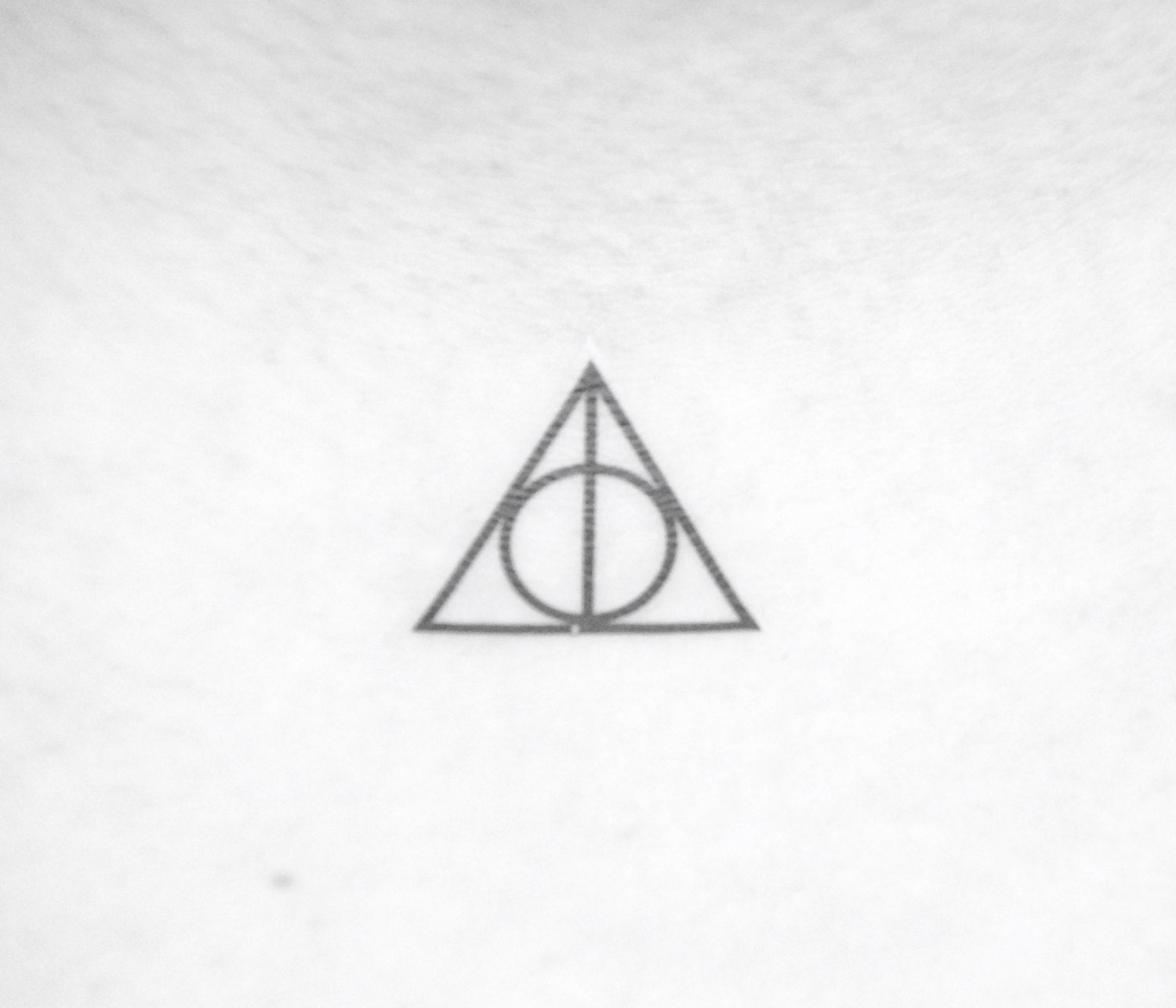 Harry potter deathly hallows temporary tattoo request a custom order and have something made just for you biocorpaavc Choice Image