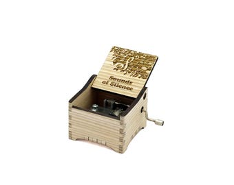 The Sounds of Silence - Simon & Garfunkel + Your Engraving on the music box
