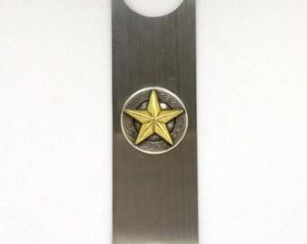 Antique Texas Star Bottle Opener