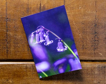 Bluebells Eco Pocket Notebook, Recycled, Eco-friendly printing