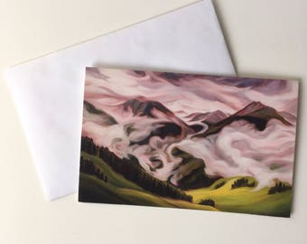 Into the Unknown - Greeting Card (set of five)