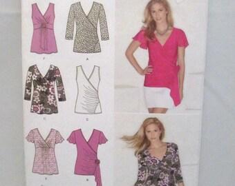 Simplicity 1916 Misses Knit Tops Size 16-24 UNCUT