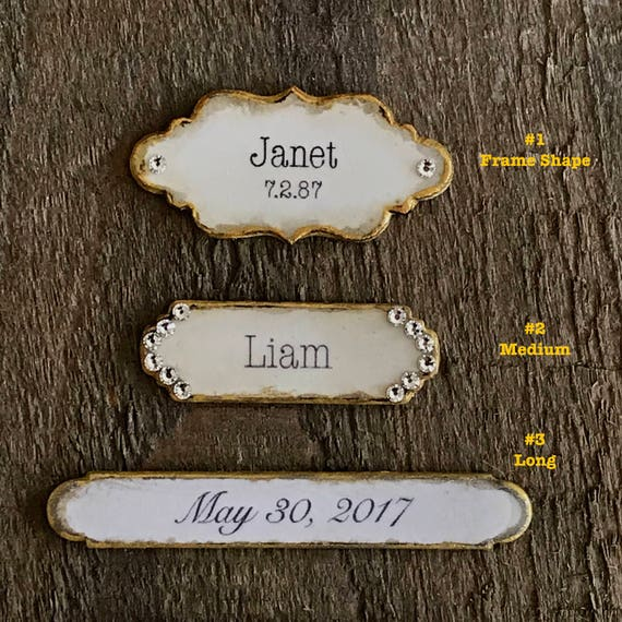 RESERVE FOR SARA: Personalize Plaque Name Plate Photo Frame ...
