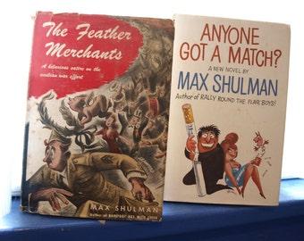 Vintage Max Shulman Books