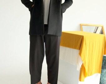 Reseau Coat -minimalist men's  wool/alpaca blend blazer